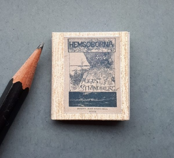 miniatuurboekje hemsöborna strindberg