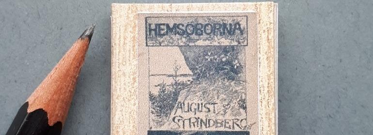 strindberg miniatuurboekje